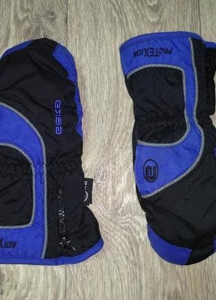 Рукавицы краги перчатки 12-14 лет protexion