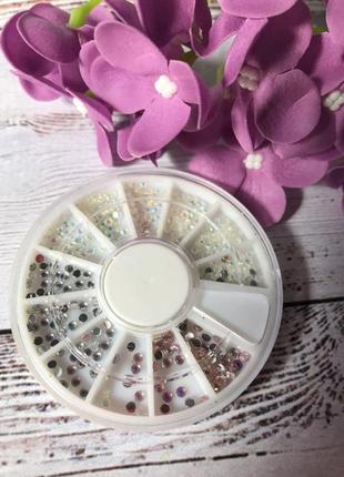 Стразы пастельных цветов в карусели