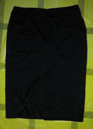 Классическая черная юбка marks&spencer