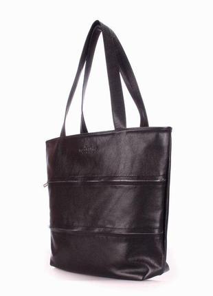 Кожаная женская сумка poolparty