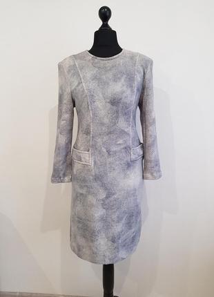 Теплое шерстяное платье alpinit
