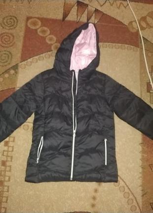 Куртка для дівчинки на ріст 140