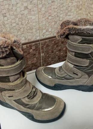 Primigi gore tex зимние термо ботинки 35 р