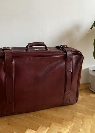 Дорожный чемодан ретро винтаж