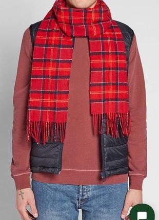 Barbour шерстяной шарф
