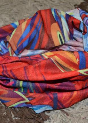 Ультрамодный цветной бафф