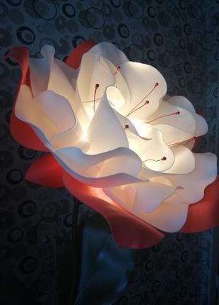 Светильник-торшер фуксия