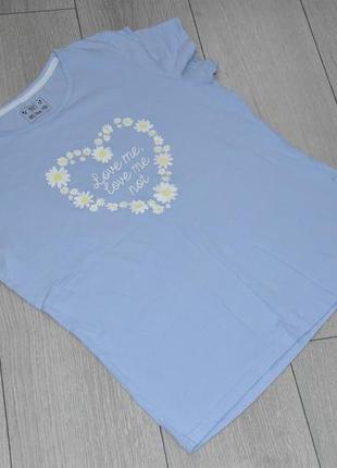 Женская футболка домашняя одежда размер m f&f оригинал