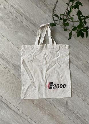 2000 тканевая сумка/шопер