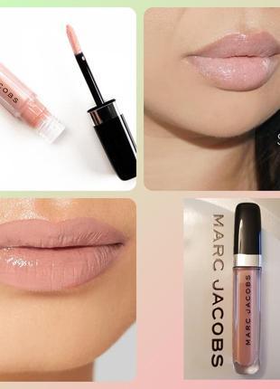 Marc jacobs enamored lip gloss sugar блеск для губ полноразмерный