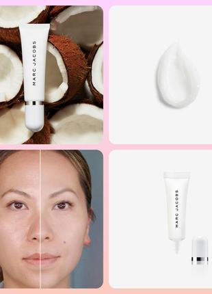 Marc jacobs under cover blurring coconut face primer праймер база для лица