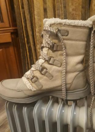Зимние сапоги-ботинки rebook