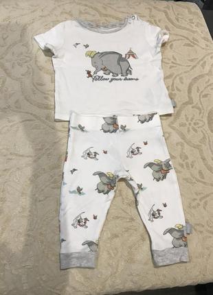 Пижамка, набор disney baby