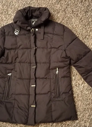 Женская курточка на синтепоне теплая зимняя 38 размер зефирка
