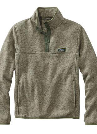 Флисовая кофта /толстовка ll bean sweater fleece pullover