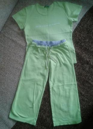 Летний костюмчик для девочки разм. 98-104
