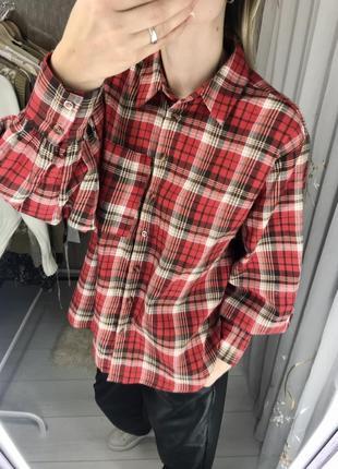 Рубашка с объёмными рукавами