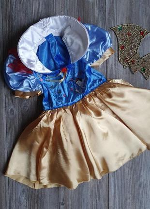 Платье боди пышное белоснежка m&s4-6л