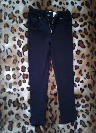 Burberry children оригинал брюки-джинсы-лосины девочке 110-116см
