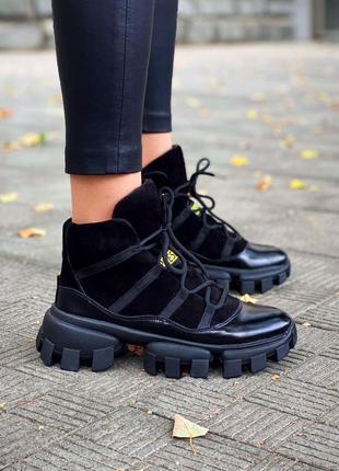 Спортивные ботинки зима