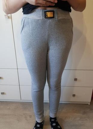 Теплые спортивные штаны