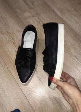 Mango лоферы мокасины туфли