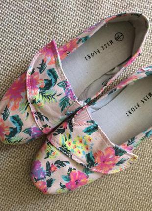 Новые текстильные балетки