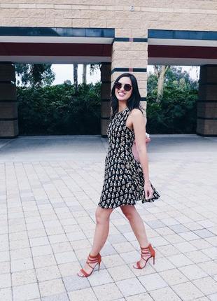 Плаття принт пелікан3 фото