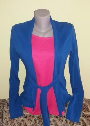 Красивая накидка-пиджак