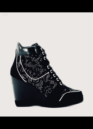 Fornarina италия замшевые сникерсы туфли кроссовки раз 37,5 размер