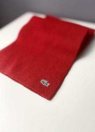 Шарф lacoste  scarf