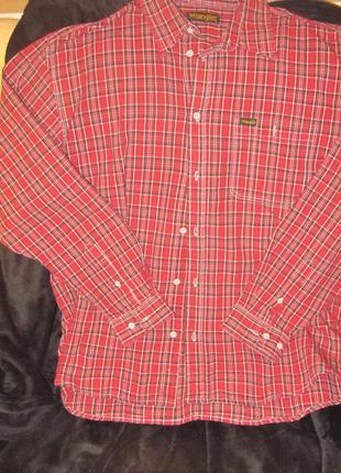 Рубашка под джинсы xl