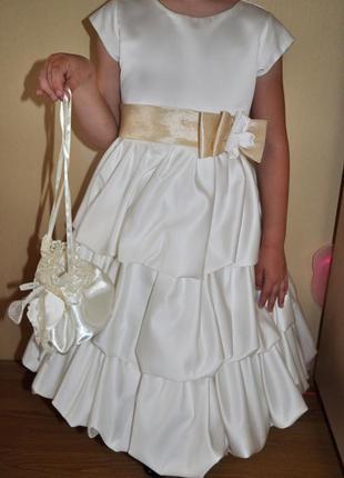 Детское нарядное платье для принцессы