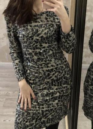 Платье в пайетки, размер s
