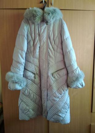 Пуховик зимовий надзвичайна якість натуральний пух зимний