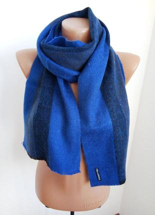 Мужской теплый шарф
