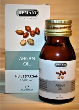 Аргановое масло hemani argan oil 30 мл