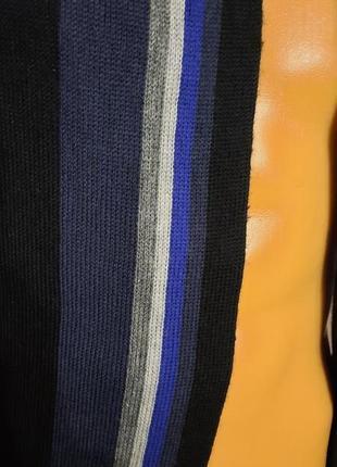 Мужской классический шерстяной шарф rejlers шерсть2 фото