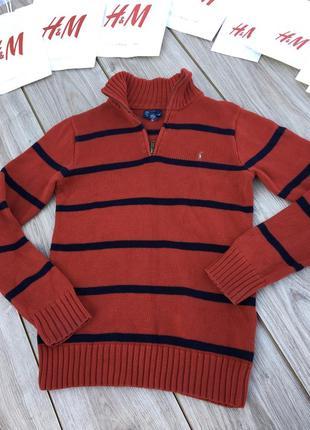 Стильный свитер с горловиной горло лонгслив джемпер реглан polo ralph lauren свитшот кофта