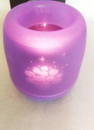 Электронная светодиодная свеча «задуй меня»