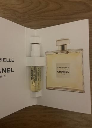 Chanel gabrielle парфюмированная вода пробник 1,5 мл