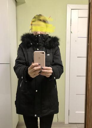 Куртка зимняя, парка zara