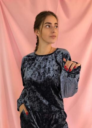 Велюровый костюм (пижама)