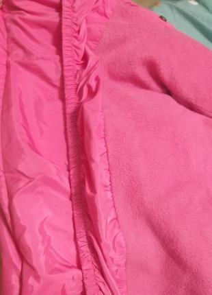 Классная , очень красивая и яркая демисезонная куртка 4-5 лет