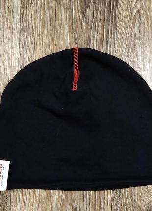 Зимняя спортивная шапочка шапка бини подшлемник для бега вело кроссфита