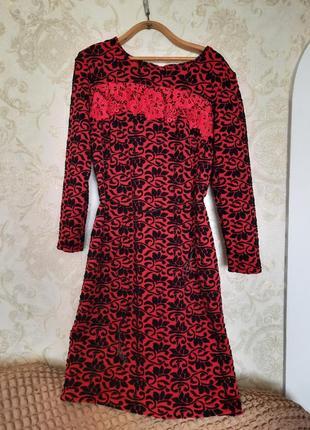 Нарядное, теплое платье