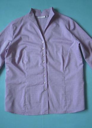Шикарная блуза рубашка от eterna