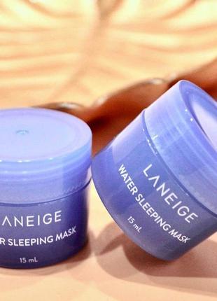 Увлажняющая ночная маска laneige water sleeping pack 15мл