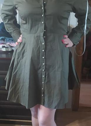 Платье на пуговицах missguided plus3 фото