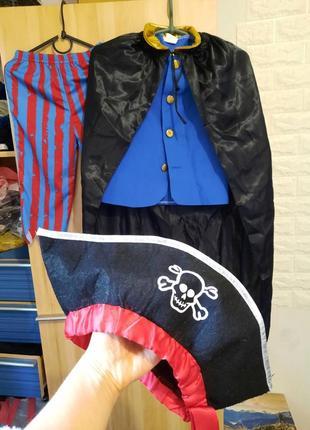 Карнавальный костюм пират, главарь пиратов